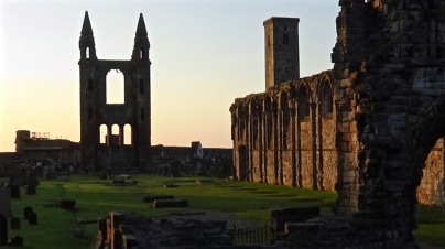 Sunrise at St Andrew's Cathedrad