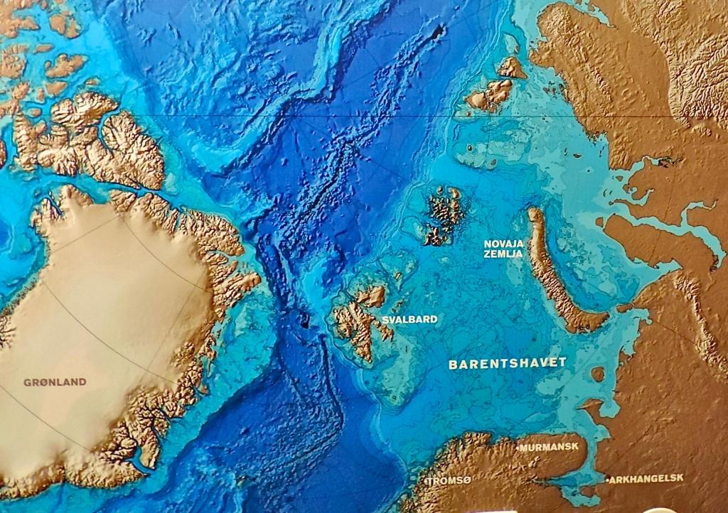 Svalbard in the Artic Ocean