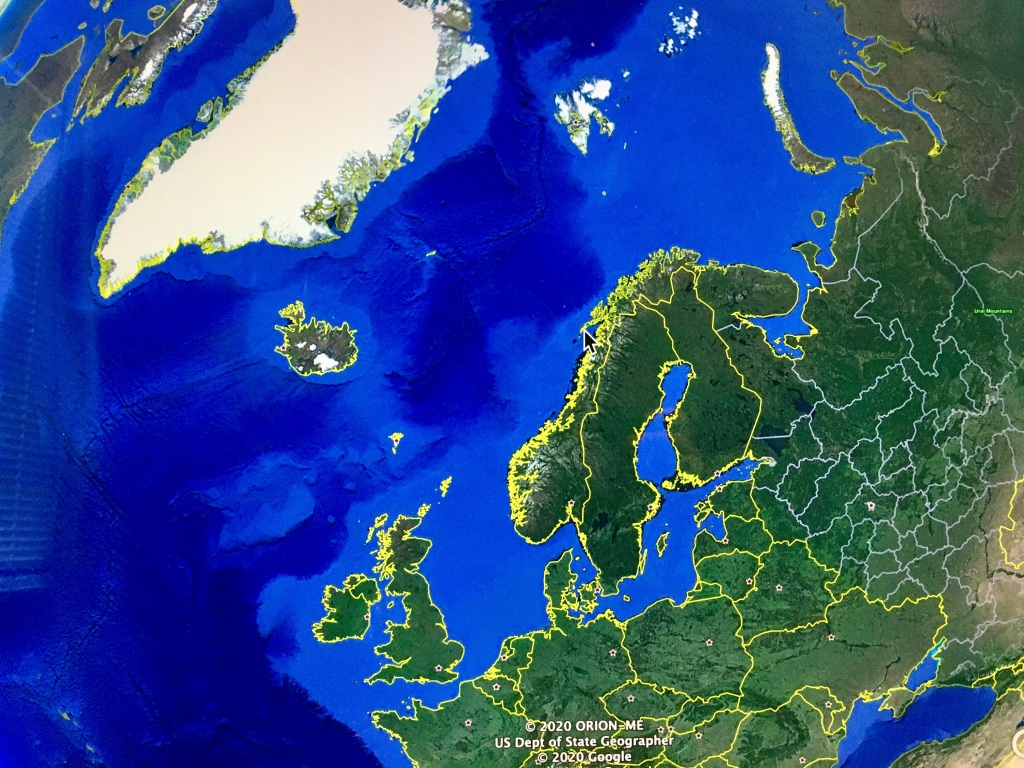 Svalbard East of Greenland